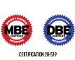 We Have MBE & DBE Certification